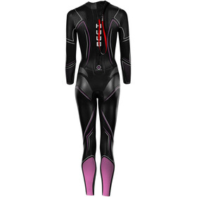 HUUB Aura 2 3:3 Combinaison Femme, black/pink/white